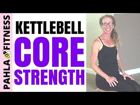 KETTLEBELL CORE | 25 Minute STRENGTH Circuit Order for Your Abs and Butt