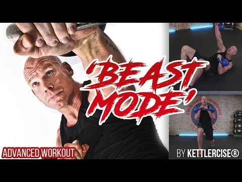 Double Kettlebell Workout 'Beast Mode' – EXTREME Workout for Fats Loss and Energy Practising