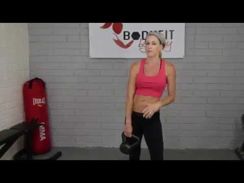 How to intention a Kettlebell swing