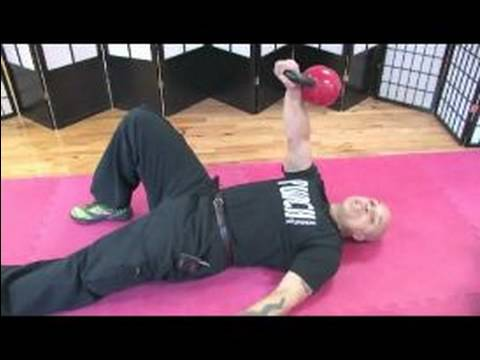 Kettlebell Exercises and Exercises : How to switch a Turkish Get Up Exercise with Kettlebells