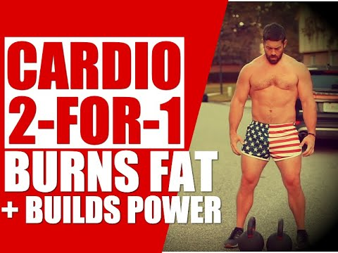 """Total Physique Kettlebell """"Energy Cardio"""" [Burns Fat & Builds Strength!]   Chandler Marchman"""