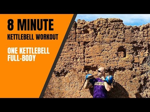 8 minute kettlebell exercise elephantine length – exercise out with me🔥