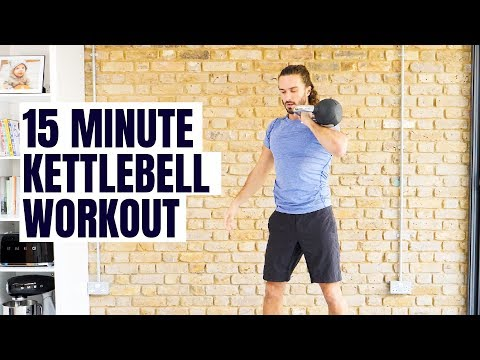 15 Minute Kettlebell Command | The Physique Coach
