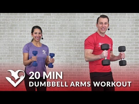 20 Minute Dumbbell Hands Hiss at Dwelling for Ladies & Men – Biceps Triceps Arm Hiss with Dumbbells