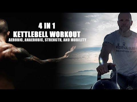 4 in 1 Kettlebell Train 👍 30/45 Minute Train