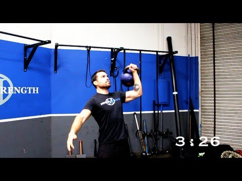 Kettlebell Complicated Workout for Tubby Loss | 5 Minute Circuit