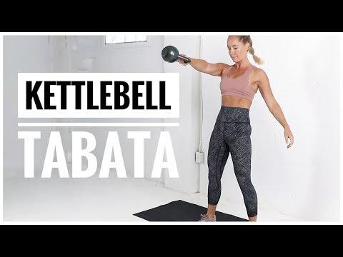 12 Minute // KETTLEBELL TABATA Recount