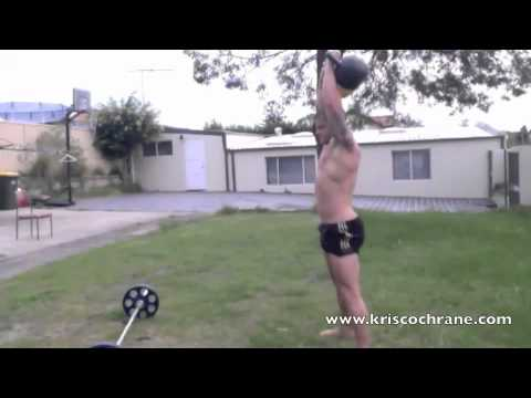 6-Pack Kettlebell Workout routines in your maintain Backyard!