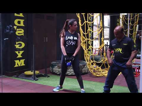 Fitness India Kettlebell session with Preeti Jhangiani
