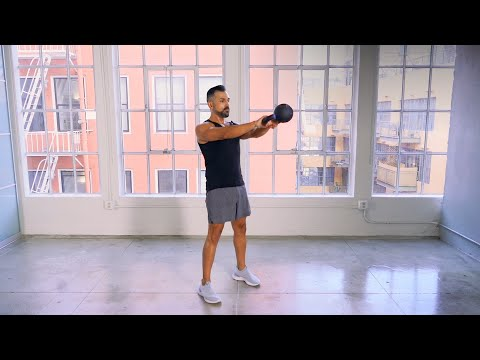 25-Minute Intro to Kettlebell Exercise