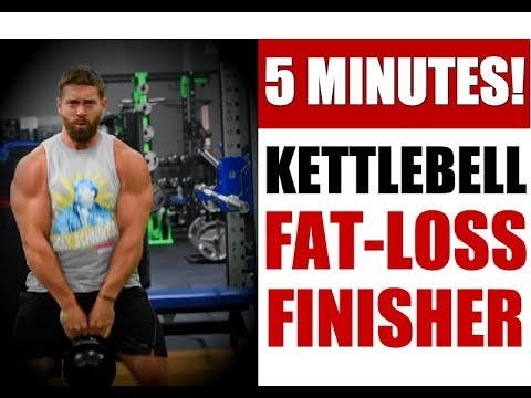 BRUTAL 5 Minute Kettlebell Chunky Loss Routine | Chandler Marchman