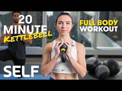 20 Minute Full Physique Kettlebell Order – With Warmth-Up and Chilly-Down | SELF