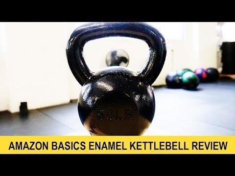 AmazonBasics Enamel Kettlebell Review