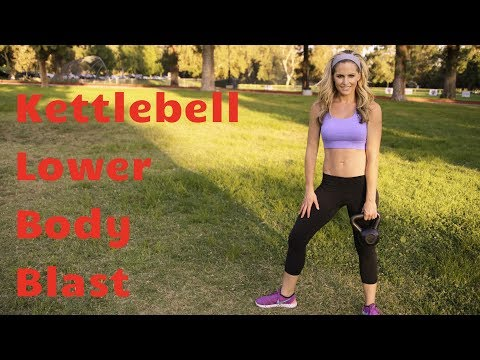 20 Minute Kettlebell Decrease Physique Blast to Give a boost to & Sculpt Legs & Butt