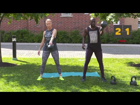 Complete Physique Kettlebell Workout (BURN FAT AND BUILD MUSCLE)
