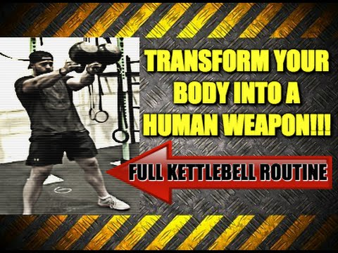Total Body Kettlebell Routine For Constructing Explosive and Ripped Muscle Mass