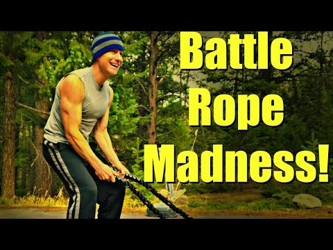 Top 10 War Rope Exercises + Posture Instruction and Energy Benefits #battleropes