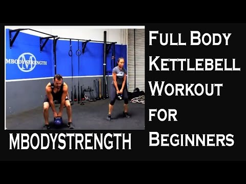 Full Physique Kettlebell Workout for Newcomers