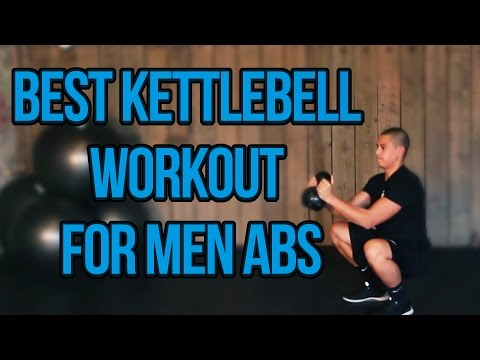 Easiest Kettlebell Workout For Men Abs