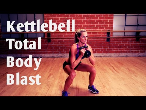 20 Minute Total Physique Kettlebell Blast Exercise for Energy and Cardio