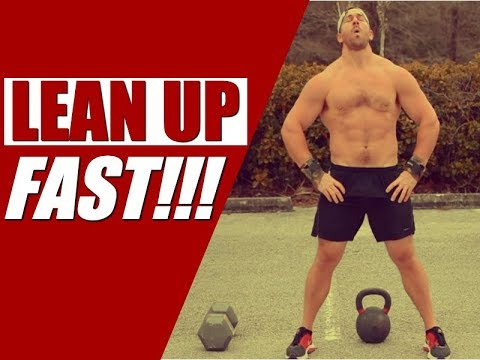 """Plump Kettlebell & Dumbbell Upper Physique Express [""""Caboose Sets"""" for More Fat-Loss] 