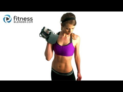 40 Minute Fleshy Blasting Complete Physique Energy Practising and Toning Workout with FitnessBlender.com