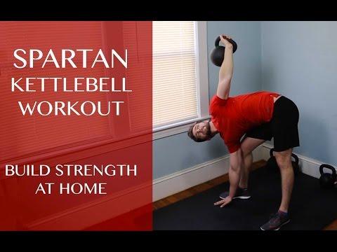Spartan Kettlebell HIIT Workout