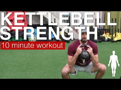 KETTLEBELL STRENGTH plump physique sigh – 10 minute follow along sigh routine | Human 2.0