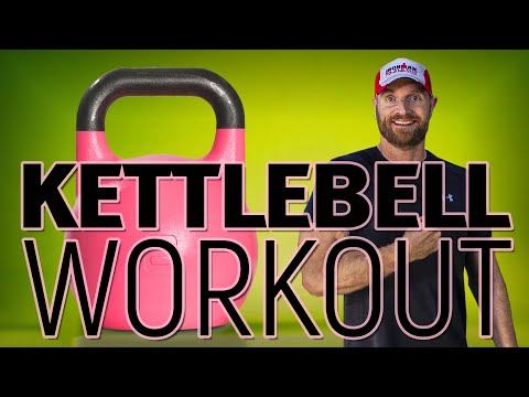 Kettlebell Rotund Loss Workout (500-600 kcal) | ⚫️ PrivateGYM FREE Workout Video