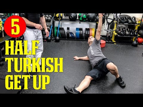 Absolute top BJJ Strength Practicing Workout routines 5: The Half Turkish Getup with Kettlebell