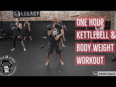 #kettlebellworkout Paunchy One Hour Kettlebell/Physique weight Workout! Kettlejitsu