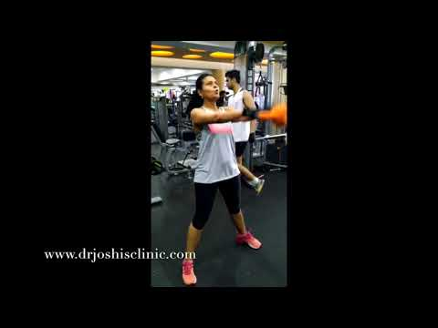 Workout with Kettlebell –  Fitness regime of Dr. Bhawisha Joshi