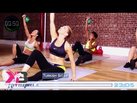 Kettlebell Kickboxing Scorcher Sequence 4 DVD Dwelling Wisely being w/ Dasha Libin Anderson