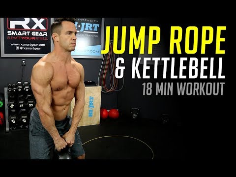 Jump Rope and Kettlebell Interval Workout – Easiest 18 Minutes