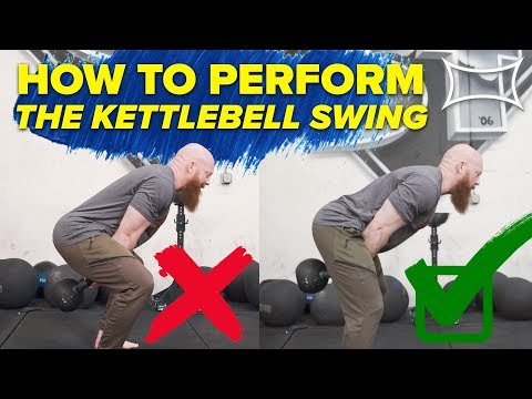 How to attain KETTLEBELL SWING (Use Your Hips!) Ft. Cory Schlesinger