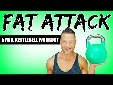 "KETTLEBELL WORKOUT ""FAT ATTACK"" 