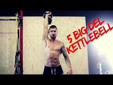 I 5 Migliori Esercizi Con Il Kettlebell