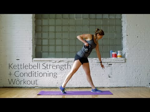 Energy + Conditioning Kettlebell Workout