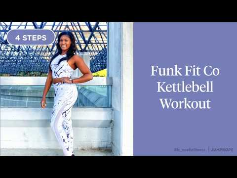 Funk Fit Co Kettlebell Exercise