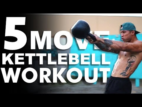 5 Switch Kettlebell Workout 🔥