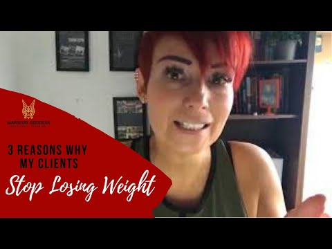 3 Causes Why my Purchasers Cease Dropping Weight