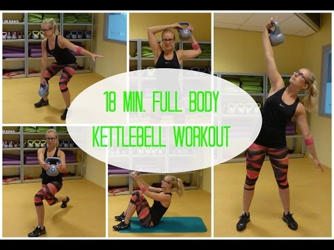 18 min. Beefy Body Kettlebell Workout