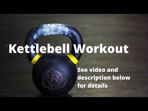 Kettlebell and Dumbell Workout | July 15, 2019