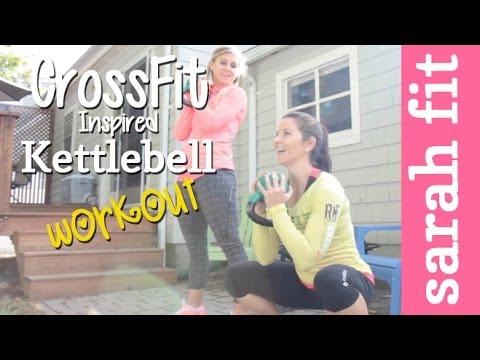 CrossFit Impressed Kettlebell Insist w/ Carrots'n'Cake