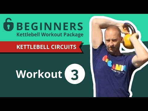 4 Minute Newbies Kettlebell Exercise #3 | Practice Along with Greg