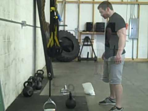 Omaha Strength Gym – The Magic 50 – Kettlebell snatches, swings, and burpees
