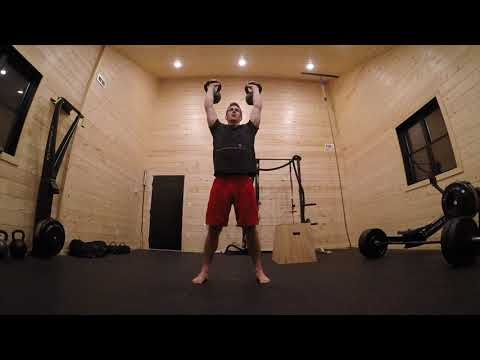 Kettlebell Trim-Press-Squat