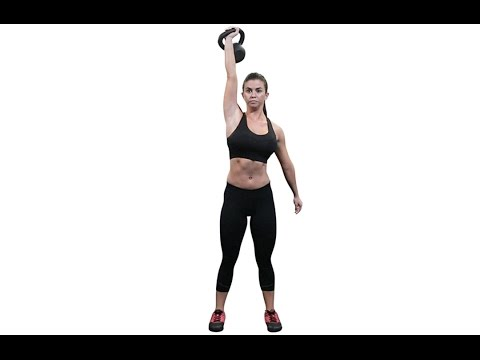 Single Kettlebell Waiter Raise