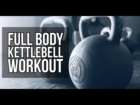 Corpulent Body Kettlebell Impart with Cues