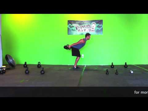 Kettlebell Skier Swings Suppose to Produce a Better Butt